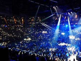 January 3: Thousands of college students at Passion Conference