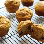 zucchini, chocolate chip, muffins