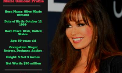 Marie Osmond Net Worth