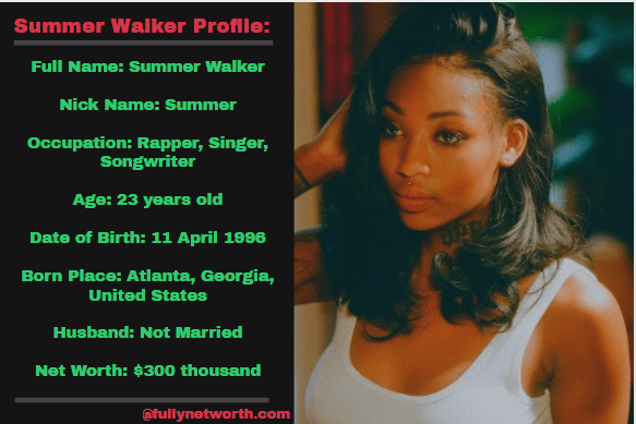 Summer Walker Net Worth: 5 Interesting Facts You Should Know