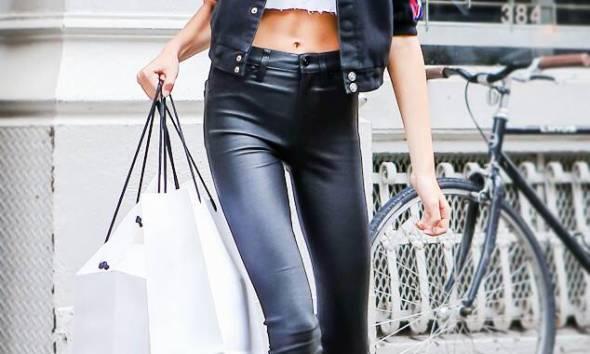 Kaia Gerber Walking New York