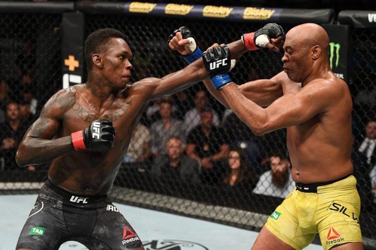 Anderson Silva vs Israel Adesanya