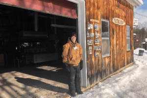 Logan Deugo guiding visitors - 6th GEN