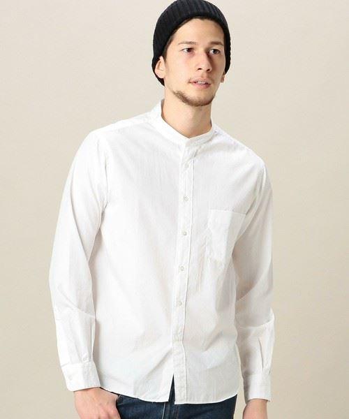 BEAUTY&YOUTH MENS BY ブロードバンドカラーシャツ