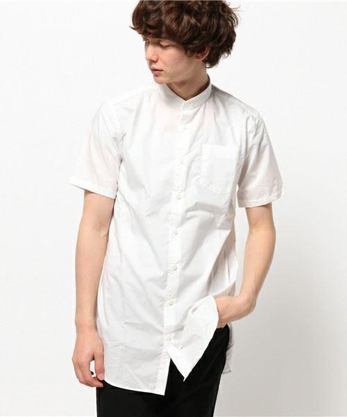 HARE MEN'S タイプライターロングシャツ
