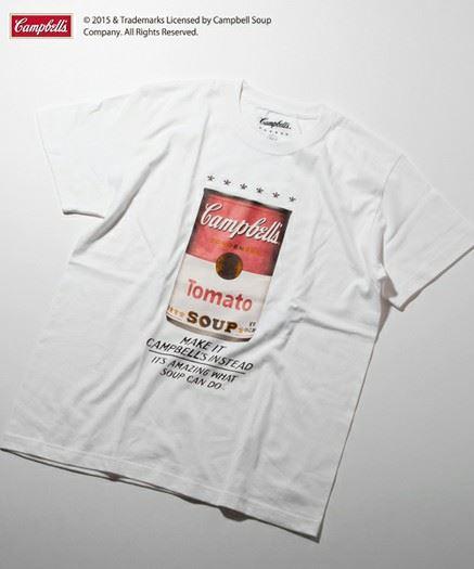 キャンベルスープ缶×BEAUTY&YOUTHホワイト
