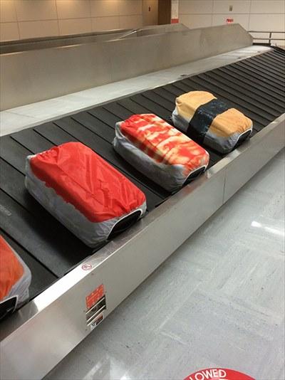 寿司スーツケースカバー1