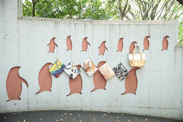 Myalka(ミャルカ)×上野動物園コラボクラッチを飾った風景