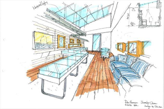 2015年8月オープンのロンハーマン京都店店内イメージ6