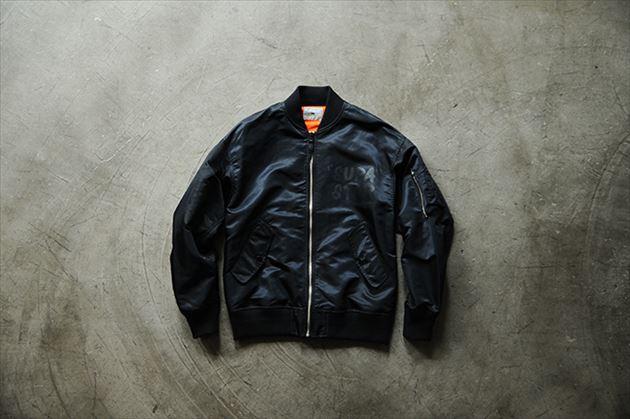 soe2015秋冬コレクションMA-1型ボンバージャケットブラック
