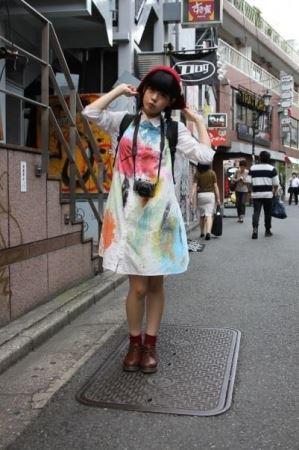 idp magazine掲載「星野にぁ(妄想キャリブレーション)」スナップ画像