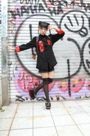 idp magazine掲載「椎名ぴかりん」スナップ画像