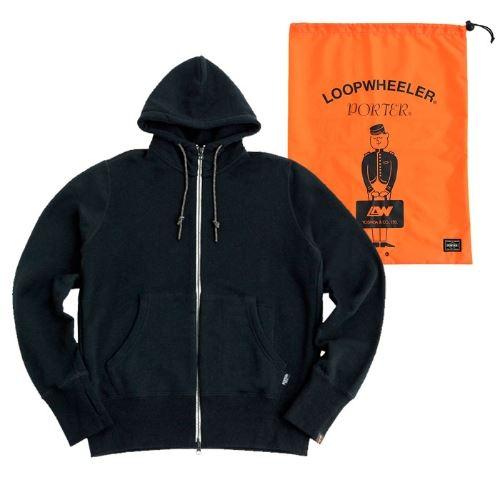 LOOPWHEELERxPORTER Travel Parka画像3