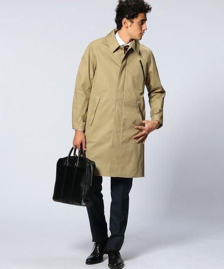 UNITED ARROWS バルカラー コートの画像3