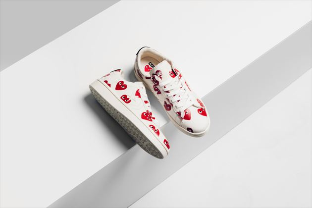 Converse x Comme Des Garcons PLAY Pro Leather Collection画像2