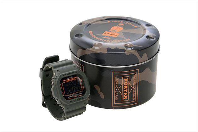 PORTER×G-SHOCK 80th ANNIVERSARY SPECIAL EDITION商品画像1