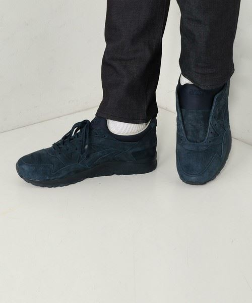 asics×UNITED ARROWS別注「GEL-LYTE V NAVY」スニーカーの画像6