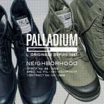 「NEIGHBORHOOD(ネイバーフッド)」×「PALLADIUM(パラディウム)」コラボブーツ画像1
