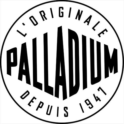 「PALLADIUM(パラディウム)」ブランドロゴ画像