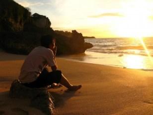 pensando en la playa