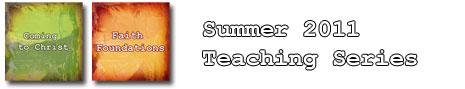 Summer 2011 Teaching Series