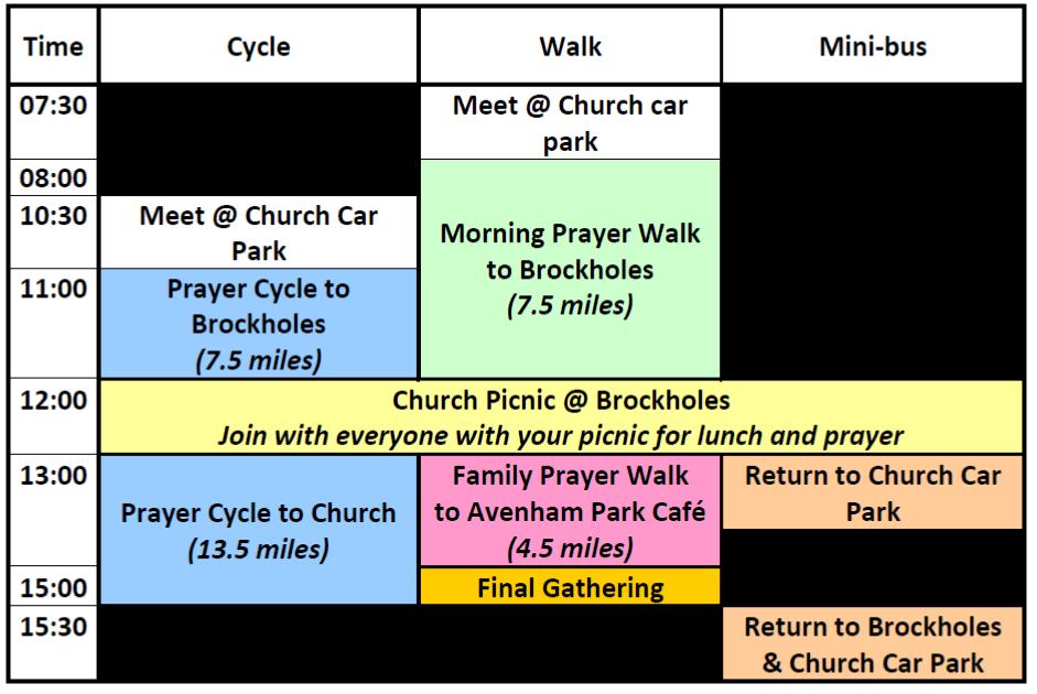 Guild Wheel Prayer for All Programme