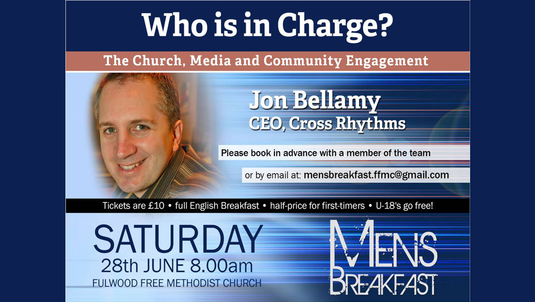 Men's Breakfast: Who is in charge? The Church, Media and Community Engagement