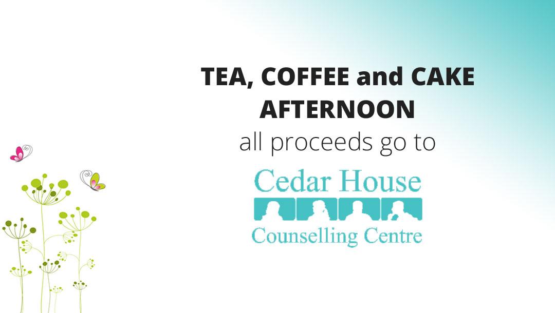 TEA, COFFEE and CAKE AFTERNOON