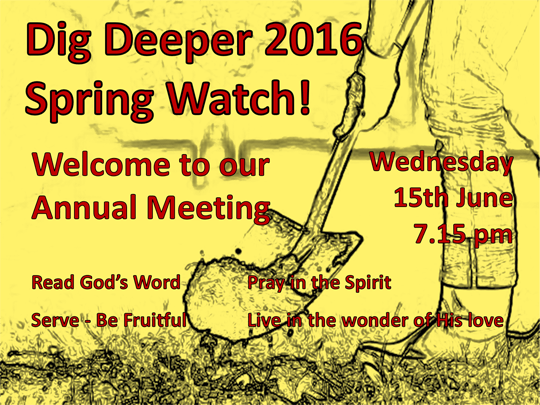 Dig Deeper 2016   Spring Watch!
