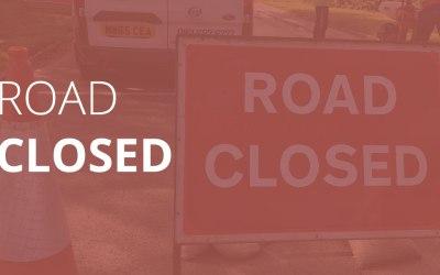 Overnight Road Closure: Friday 25th January 2019 to Monday 28th January 2019,