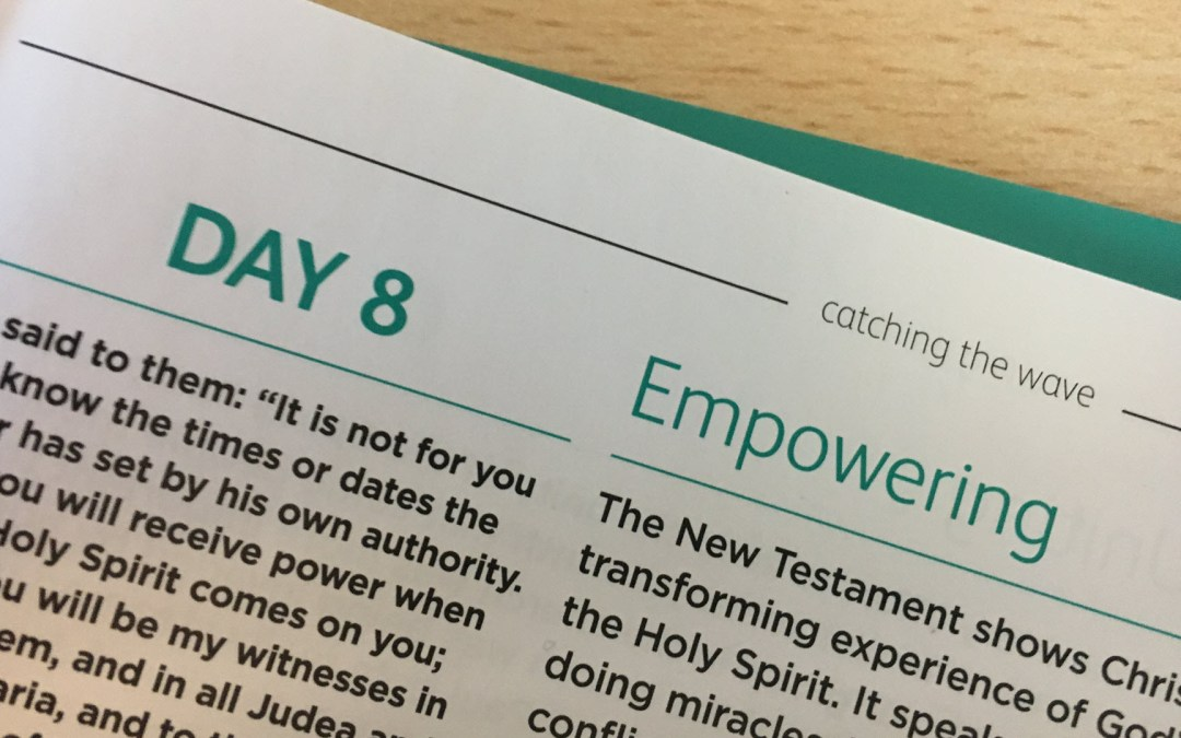 Empowering – Don't stop breathing – reflections from Andrew Gardner | Day 8 | catching the wave | Focus on 40