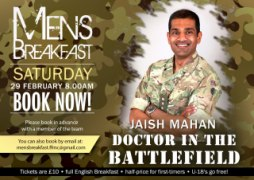 Doctor in the Battlefield with Jaish Mahan | Men's Breakfast