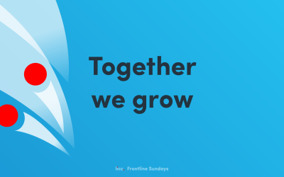 Online Sunday Gathering | Sunday 11th October @ 11:00am | Frontline – Together we grow