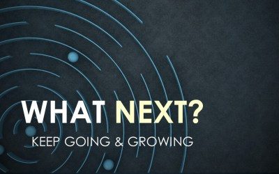 What Next? Keep Going and Growing   Sunday Service 15th November 2020 @ 11:00am