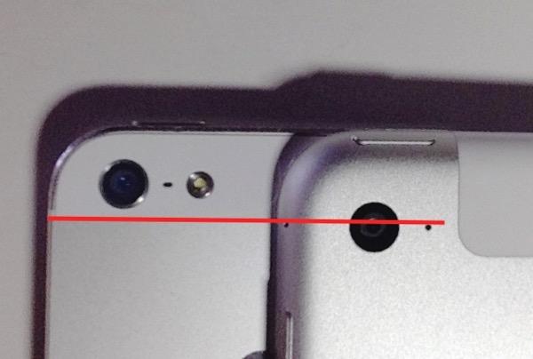 iPhone iPad カメラ デザイン 黄金比 ジョニー 検証