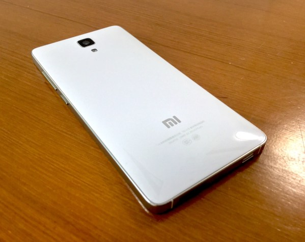 Xiaomi シャオミ MIUI7 レビューMi4 White  Mi5