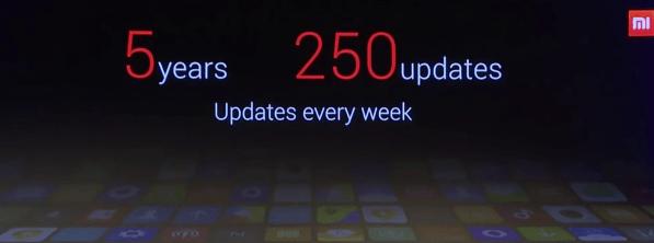 Xiaomi シャオミ MIUI7 レビュー Mi4 MIUI update cycle Mi5
