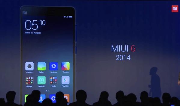 Xiaomi シャオミ MIUI7 レビュー Mi4 MIUI6 Mi5