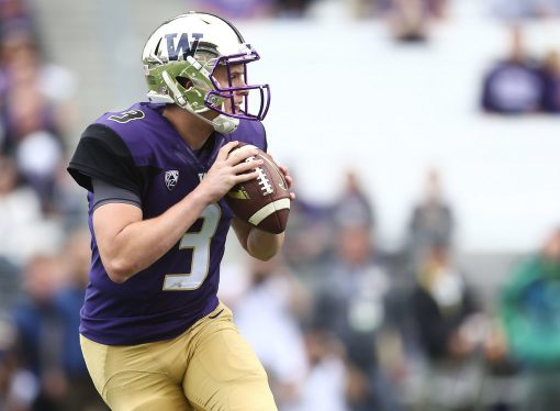 Jake Browning, quarterback de Washington