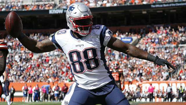 Martellus Bennett, tight end, New England Patriots