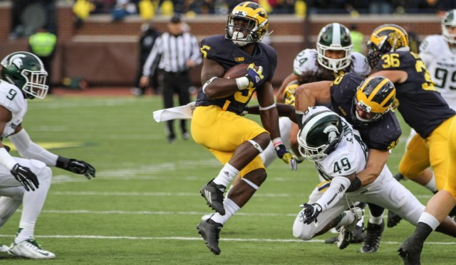 Jabrill Peppers Michigan  vs Michigan State