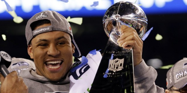 Malcolm Smith, escolha compensatória de 7º round do Seattle Seahawks e MVP do Super Bowl XLVIII