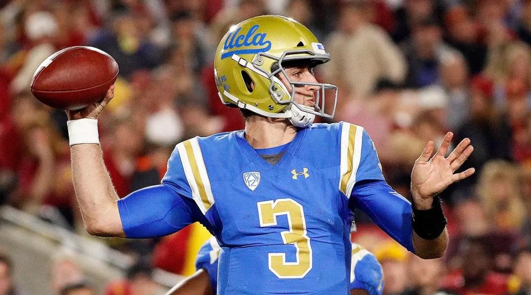Josh Rosen, quarterback da universidade UCLA