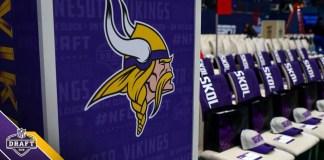 classe 2018 do Minnesota Vikings