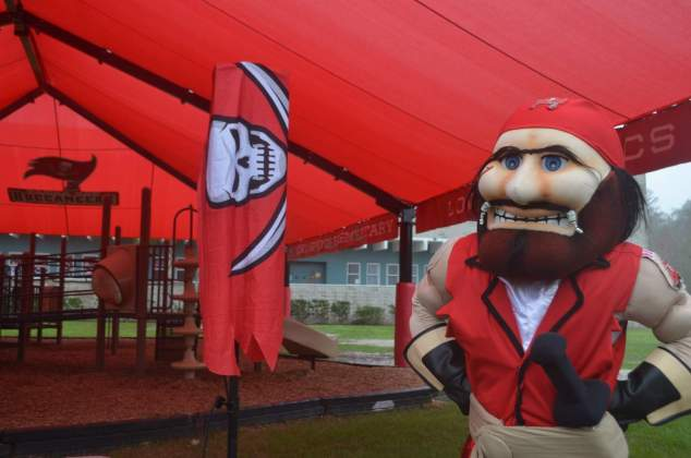 Captain Fear, mascote do Tampa Bay Buccaneers