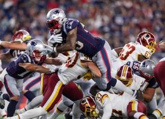 Patriots vs Redskins