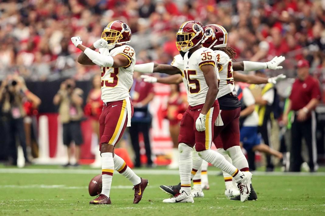 Dunbar lidera os Redskins na vitória contra os Cardinals