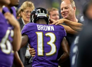 John Brown, o melhor Brown da AFC North