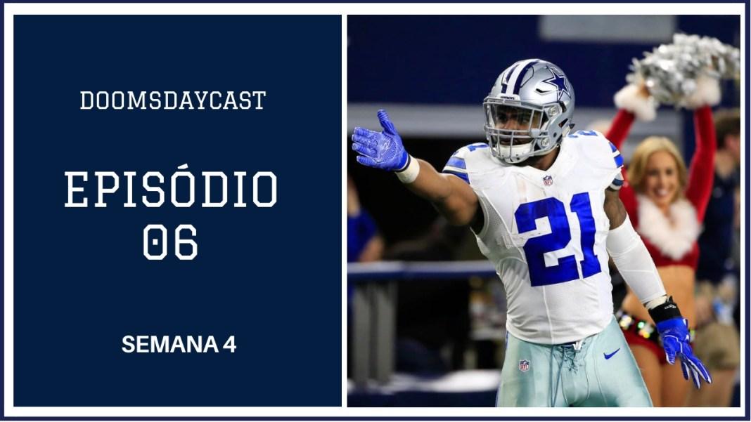Cowboys vs Lions Semana 4 2018