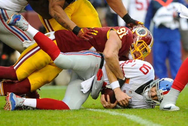 Washington Redskins at New York Giants
